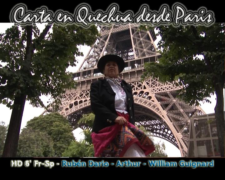 Una Carta En Quechua Desde Paris