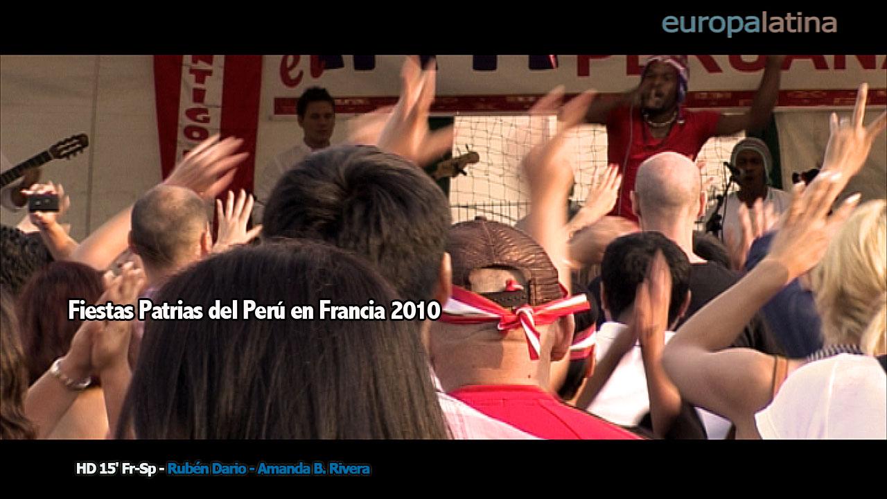 fiestas perú PARIS Francia 2010