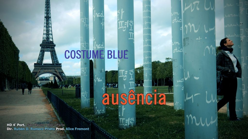 ausencia costume blue