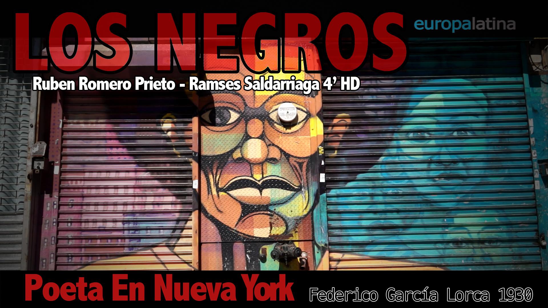 """""""Los Negros"""" Federico García Lorca"""