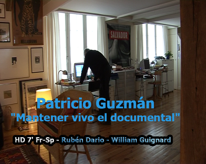 Patricio Guzmán: Mantener Vivo El Documental