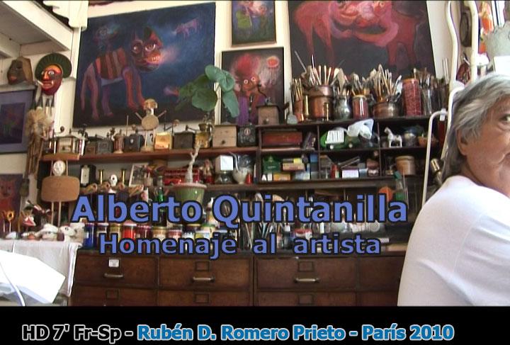Alberto Quintanilla: Rendir honor al artista