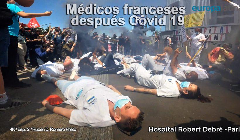 médicos franceses después covid 19