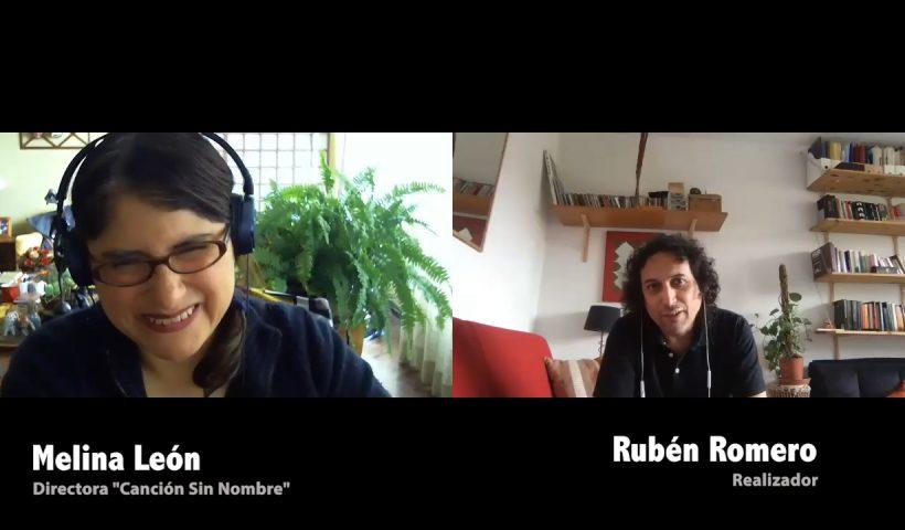 Melina León conversa con Rubén Romero