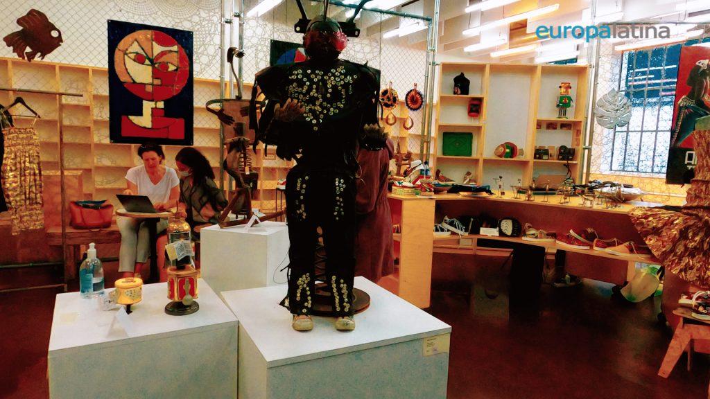 art africain au 104