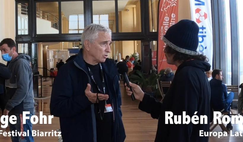 rubén romero conversa con serge fohr
