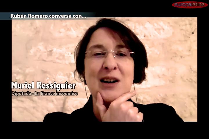 Muriel Ressiguier: ser de izquierda es poner a la gente en el centro del sistema
